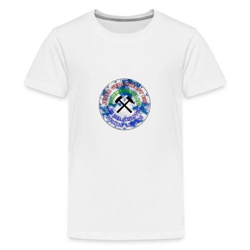 JEDER GEDANKE IST EIN hammerschlag - Teenager Premium T-Shirt