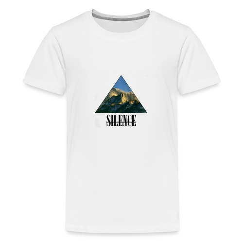 Silence - Teenager Premium T-Shirt