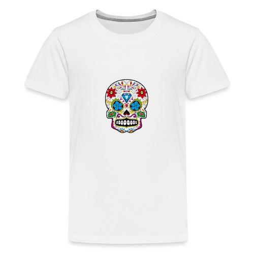 skull5 - Maglietta Premium per ragazzi