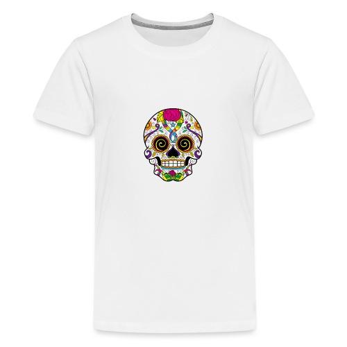 skull3 - Maglietta Premium per ragazzi