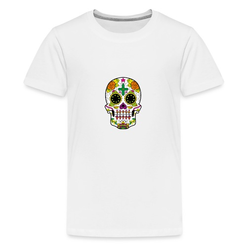 skull4 - Maglietta Premium per ragazzi