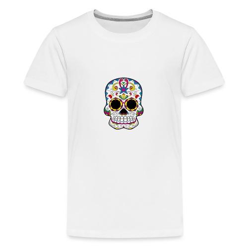 skull7 - Maglietta Premium per ragazzi