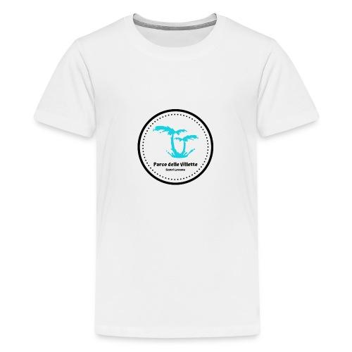 LOGO PARCO DELLE VILLETTE - Maglietta Premium per ragazzi