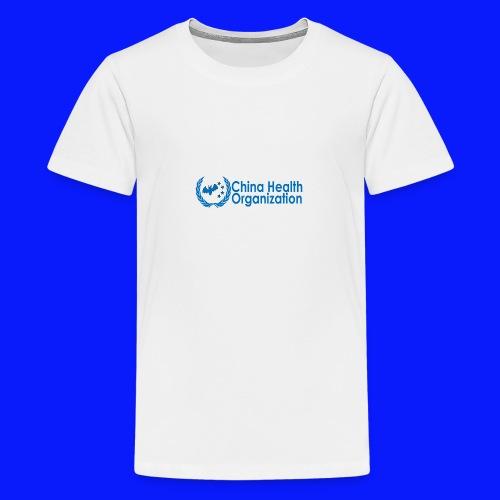 China Health Organization - Teenage Premium T-Shirt