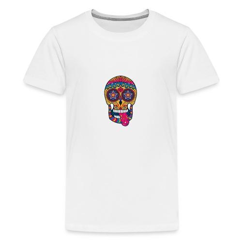 Mexican Skull - Maglietta Premium per ragazzi