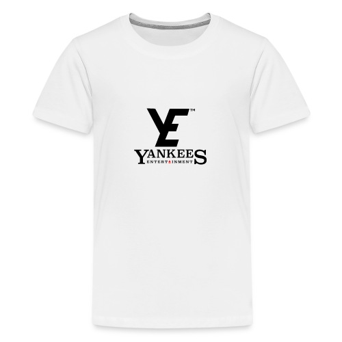ye black - Teenage Premium T-Shirt