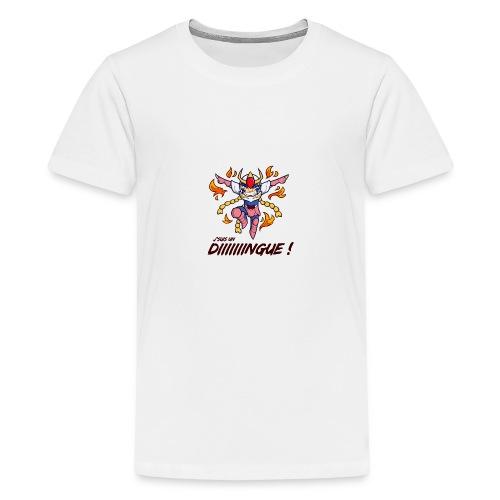 Ikki - J'suis un dingue - T-shirt Premium Ado