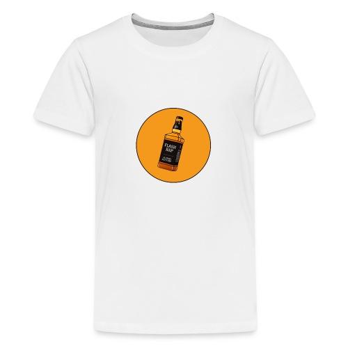 Logo Flash Rap - T-shirt Premium Ado