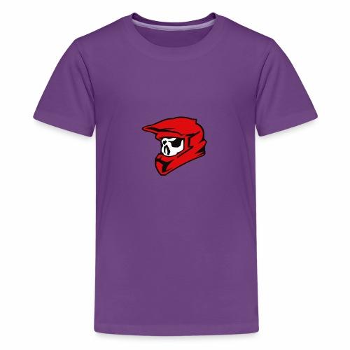 Schaedel Motocross - Teenager Premium T-Shirt
