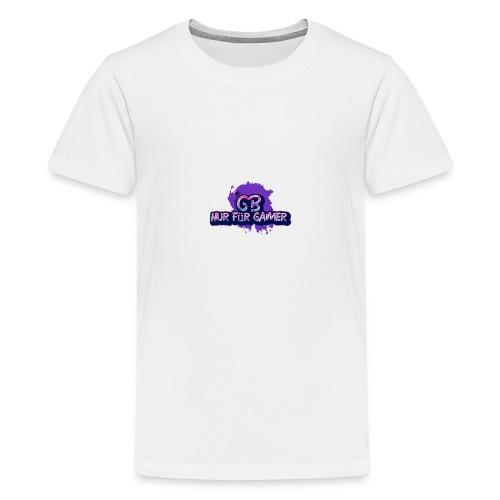 Nur für Gamer Merch - Teenager Premium T-Shirt