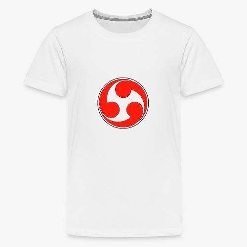 esoteric symbols samurai - T-shirt Premium Ado