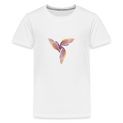 Bird of Paradise Cockatoo Icarus Chaos 4398I - Teenage Premium T-Shirt
