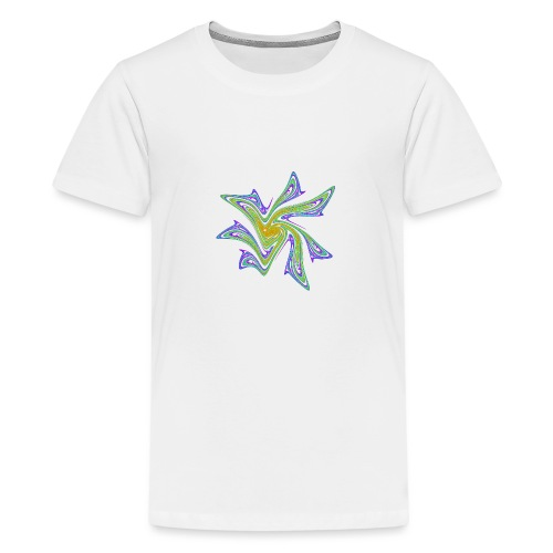 Starfish Sea Urths Marine Animals Ocean Chaos 2721grbw - Teenage Premium T-Shirt