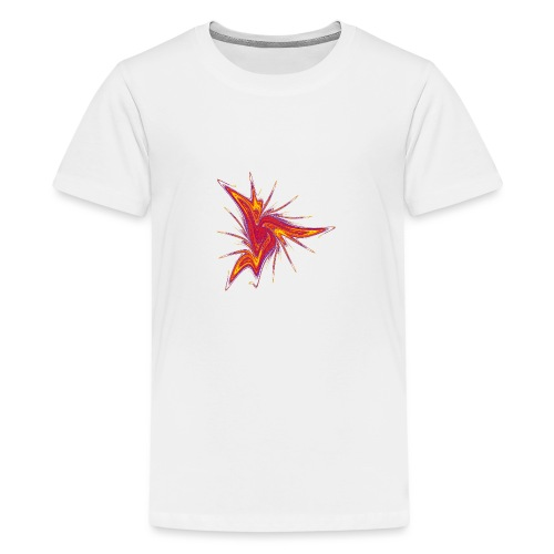 Lausebengel Seestern Seeigel Meerestiere 2953bry - Teenager Premium T-Shirt