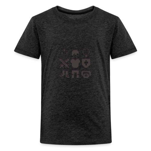RPG Inventory Slots - Teenager premium T-shirt