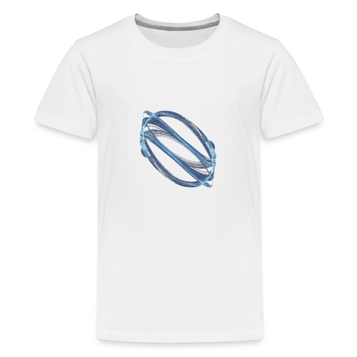 Watermark Chaos Art Watercolor Graphics 6988ice - Teenage Premium T-Shirt