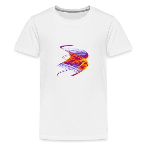 Firestorm Fire Roller Flame Sea Fire Column 12771 - Teenage Premium T-Shirt