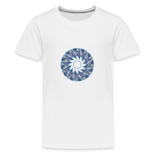 Chakra Mandala Mantra OM Chaos Stern Kreis 12235ic - Teenager Premium T-Shirt