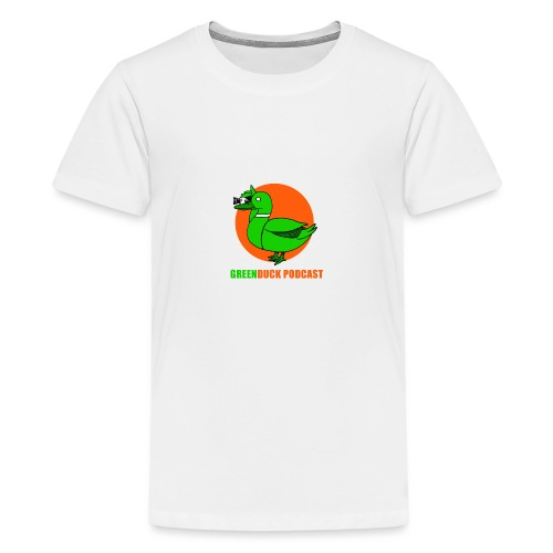 Greenduck Podcast Logo - Teenager premium T-shirt