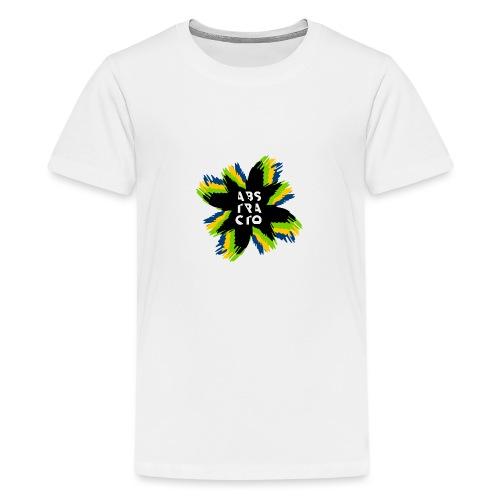Arte Abstracto - Camiseta premium adolescente