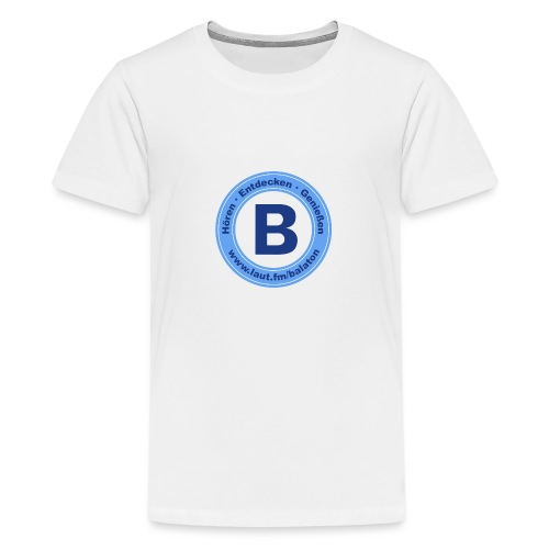 Webradio Balaton - Teenager Premium T-Shirt