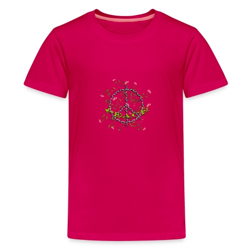 Peace - Teenager Premium T-Shirt
