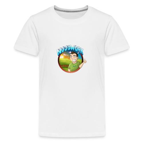 Noobwork Sunset - Premium T-skjorte for tenåringer