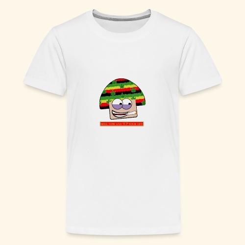 mushroom ganja-man - Maglietta Premium per ragazzi