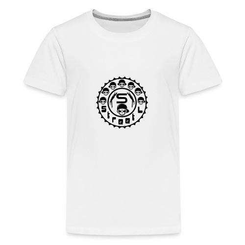 rawstyles rap hip hop logo money design by mrv - Koszulka młodzieżowa Premium
