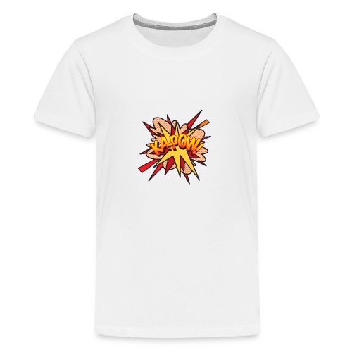 Comic Book Pop Art KA-POW - Teenage Premium T-Shirt