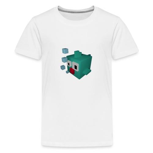 Süsser kleiner Würfelfisch - Teenager Premium T-Shirt