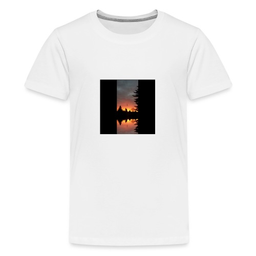 Morgenrotdrama Small - Teenager Premium T-Shirt