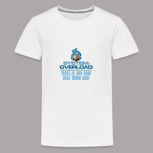 System Overload Light Blue - Teenager Premium T-shirt