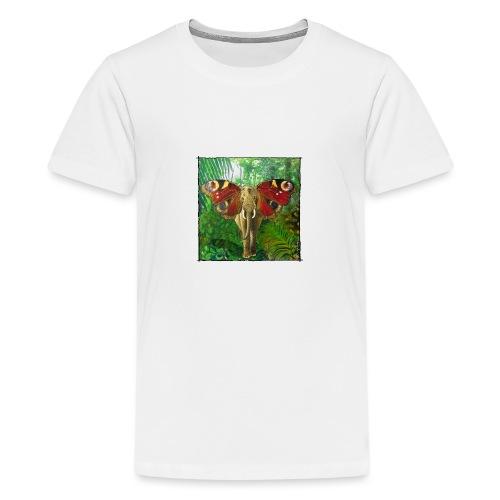Schmettefant im Dschungel - Teenager Premium T-Shirt