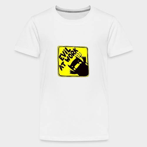 Evil at work - Camiseta premium adolescente