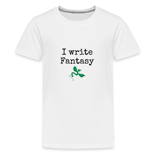 i_write_fantasy - Teenage Premium T-Shirt