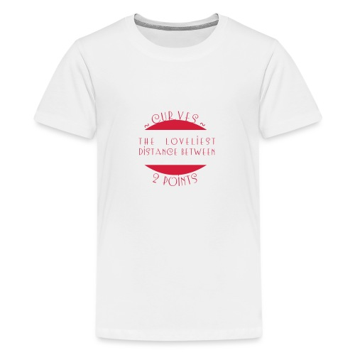 Curves - Teinien premium t-paita