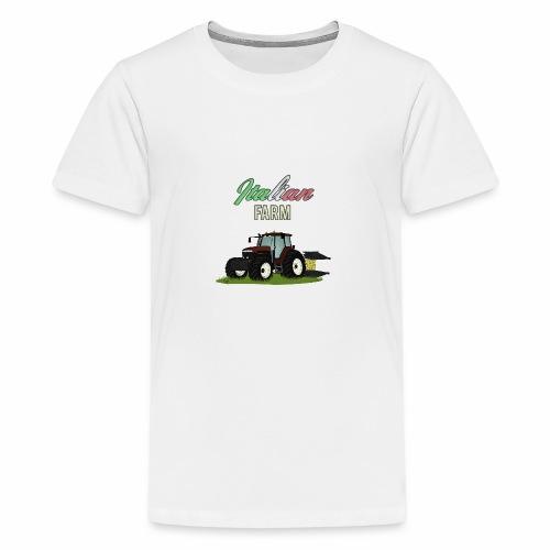 Italian Farm official T-SHIRT - Maglietta Premium per ragazzi