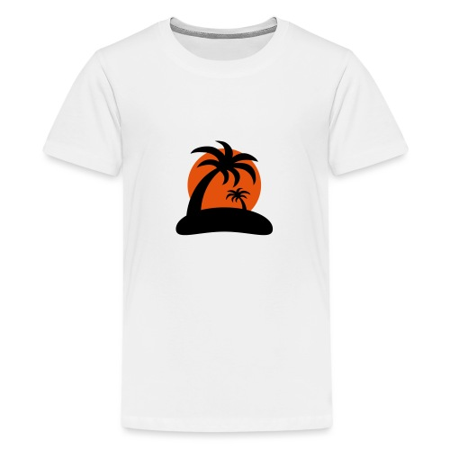 palm island sun - Teenager Premium T-shirt