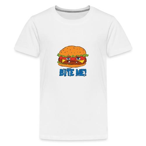 Bite me! - Maglietta Premium per ragazzi
