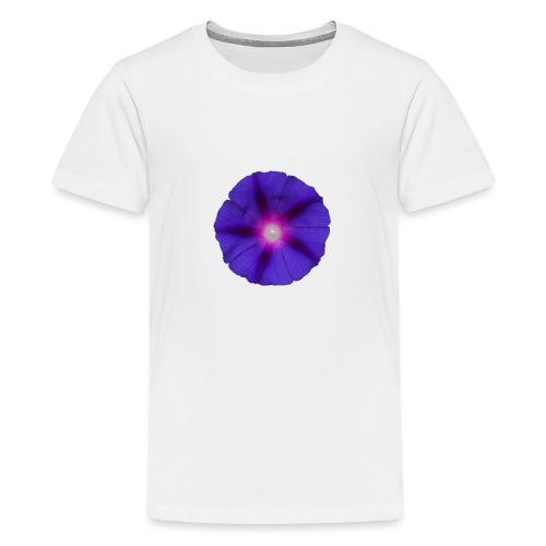 Trichterwinde Lila - Teenager Premium T-Shirt