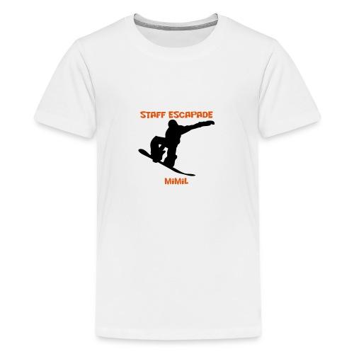 Staff Snow Mimil - T-shirt Premium Ado