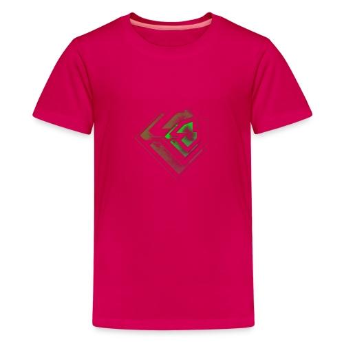 BRANDSHIRT LOGO GANGGREEN - Teenager Premium T-shirt