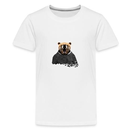 Explosive Bear - Teenage Premium T-Shirt