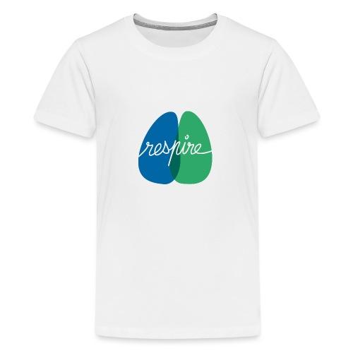 T-shirt de l'association Respire (coupe homme) - T-shirt Premium Ado