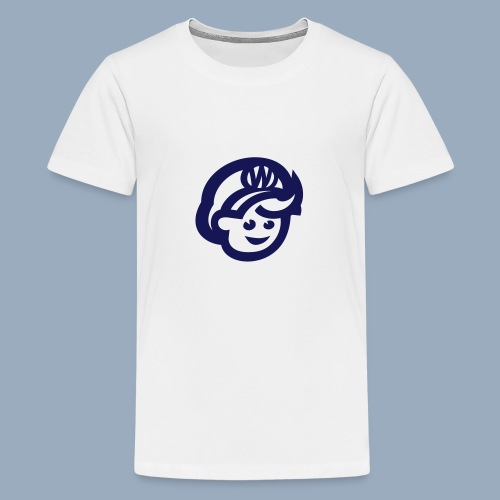 logo bb spreadshirt bb kopfonly - Teenager Premium T-Shirt