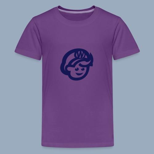 logo bb spreadshirt bb kopfonly - Teenage Premium T-Shirt