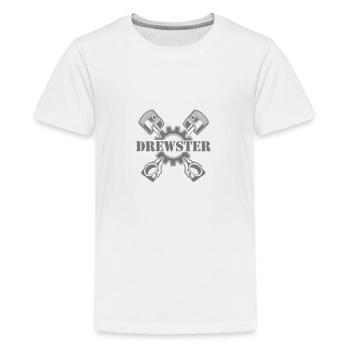 Drewster Emblem - Teenager Premium T-Shirt
