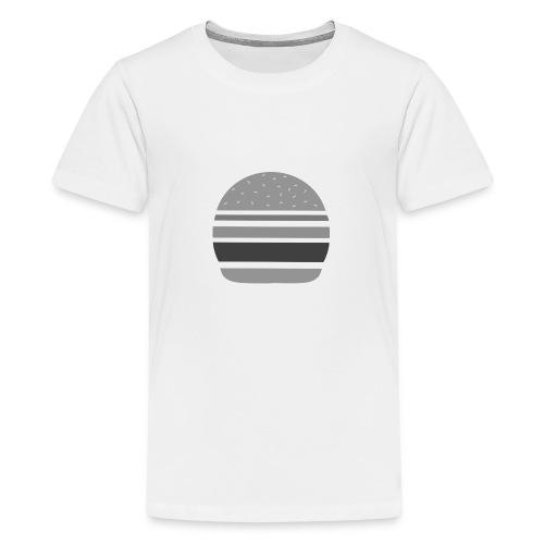 Logo_panhamburger_gris - T-shirt Premium Ado