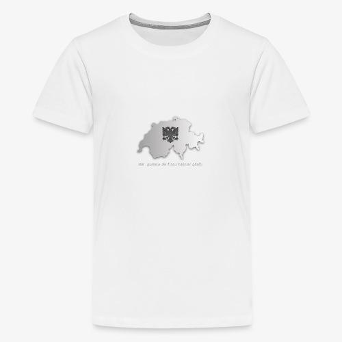 Schweiz & Albanien WM Shirt - Teenager Premium T-Shirt